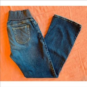 OLD NAVY Half Panel Stretch Bootcut Jeans